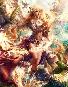 Angel de los animales legend of the cryptids