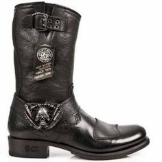 botte moto custom chaussures moto vintage stylmartin rocket botte biker homme cafe racer chaussures. Black Bedroom Furniture Sets. Home Design Ideas