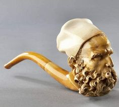 Two Meerschaum Beards. Wooden Smoking Pipes, Pipe Smoking, Tobacco Pipes, Meerschaum Pipe, Indian Art Paintings, Pipes And Cigars, Buddha, Walking Sticks, Modern Man