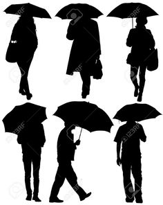 17180899-Man-and-Woman-with-an-Umbrella-Silhouette-on-white-background-Stock-Vector.jpg (1036×1300)