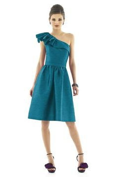 Alfred Sung D546 Bridesmaid Dress   Weddington Way