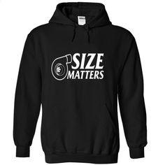 SIZE MATTERS TURBO DIESEL T Shirts, Hoodies, Sweatshirts - #custom shirt #designer t shirts. GET YOURS => https://www.sunfrog.com/Automotive/SIZE-MATTERS-TURBO-DIESEL-6443-Black-7101039-Hoodie.html?60505