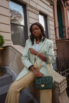 If you're still searching for gift ideas for your friends, mother or sisters, Coco Bassey shares her latest bag obsession from Michael Kors: The Soho Bag. (Available in green, tan, black, red and pink)