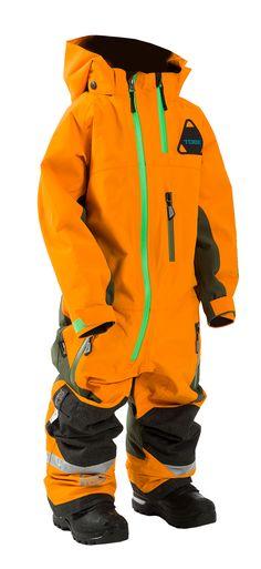 d2c20b96cf Novus Junior Mono Suit - TOBE Outerwear - This kid s one-piece snowsuit is  built