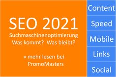 Die SEO Trends 2021 für Suchmaschinenoptimierung von PromoMasters Online Marketing sind soeben erschienen. 👌️ Bitte Like + Share 💙 Was ist wichtig bei SEO im Jahr 2021 zu beachten❓ Welche Rolle spielt Google und wie erreiche ich ein sehr gutes Ranking❓ Dies und mehr erklärt wie jedes Jahr unser Bericht zum Thema Suchmaschinenoptimierung. Wir 🧡 💛 💚 💙 💜 🖤 #SEO #Suchmaschinenoptimierung #Google #2021 #PromoMasters Seo Sem, Trends, Marketing, Google, Artificial Intelligence, Search Engine Optimization, Summary, Social Networks, You're Welcome