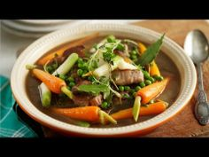 Marco's Quick Lamb Stew - Dyslexic Chef Marco Pierre White recipe video for Knorr Lamb Recipes, Cooking Recipes, Slow Cooking, Meal Recipes, Healthy Recipes, Stew And Dumplings, Marco Pierre White, Lamb Dinner, Lamb Stew