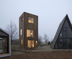 Completed in 2018 in Almere, The Netherlands. Images by Christiane Wirth. Concept SLIM FIT is a permanent micro dwelling of 50m2 designed for urban densification. SLIM FIT occupies with its minimal footprint, 16 m2, less...