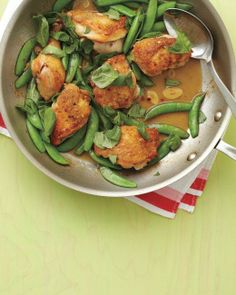 Chicken and Snap Peas Recipe