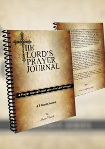 The Lords Prayer Journal uses The Lords Prayer as the basis to learn how to pray as Jesus taught us in the Bible. Daily devotional for women and men. Prayer Board, Lord's Prayer, Prayer List, Father Son Holy Spirit, Praying For Others, Prays The Lord, Prayer Journals, Bible Journal, Christian Gifts