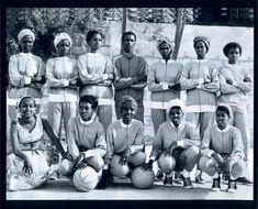 Somali Womens Basketball team circa 1970s
