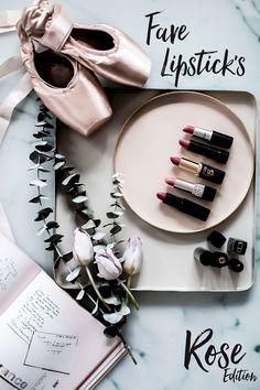 Die Lippenstift Frage.Favorite Lipsticks the rose edition. Welche Leidenschaft ich zur Zeit vernachlässige? Die Liebe zur Lippenstiftfarbe.