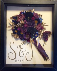 Preserve your wedding bouquet with Leigh Florist! #BouquetPreservation…