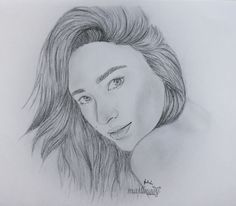 Drawing of Shay Mithcell from Pretty Little Liars