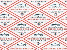 Sockeye Saloon Logo by Cameron Jennings