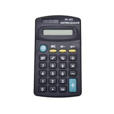 Portable 8 Digit Calculator School Company Office Supplies General Purpose Electronic Calculator Battery Powered