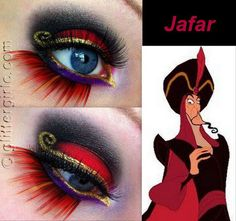 Disney Makeup. Jafar. How awesome is this?