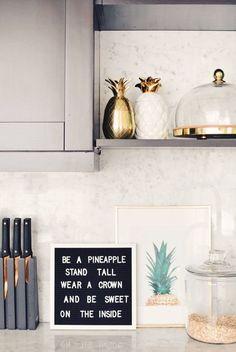 Soczysty trend - ananas we wnętrzach - Polisz Design