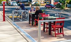 Dero Designs its First Parklet to Help Cities and Businesses Add Space and Vibrancy to Streets