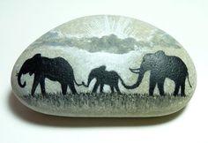 Painted Pebbles by Oxfordshire artist Amanda Deadman