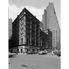 1966 Metropolitan Opera House Broadway Street Scene New York City
