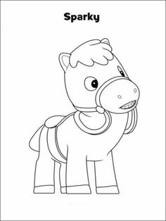 Sheriff Callie Coloring Pages 5