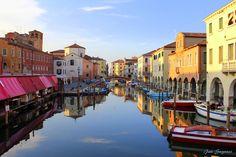 Jan Sognnes 'Evening at Canal Vena' - Chioggia, Veneto, Italy
