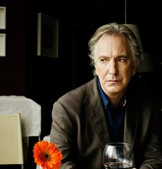 "Irresistibly pinned - Alan Rickman in ""Song of Lunch"""