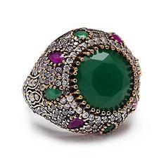 Ottoman Design Turkish Antique Ring