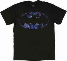 Batman Space Logo T Shirt