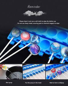 DIY Starcraft Silicone Lollipop Mold