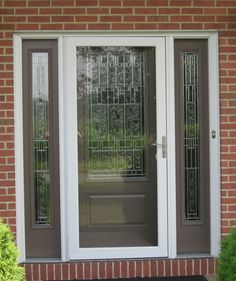 Therma Tru Doors for Your Terrific House Design Lowes Fiberglass Entry Doors | Therma Tru & With a Provia Fiberglass Entry Door like this one you get the ...