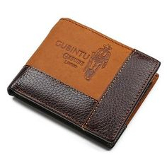Item Type: Wallet Brand Name: GUBINTU Interior: Interior Slot Pocket,Interior Zipper Pocket,Interior Compartment,Zipper Poucht,Coin Pocket,Note Compartment,Photo Holder,Card Holder Closure Type: No Zipper Item Width: 9.5cm Item Height: 2.5 cm Gender: Men Pattern Type: Patchwork Lining Material: Genuine Leather Style: European and American Style Main Material: Genuine Leather Wallet Length: Short Item Length: 11.5 cm Item Weight: 0.1kg Material Composition: Genuine Leather Wallets: Standard…