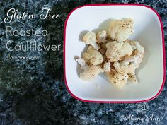 Roasted Cauliflower...