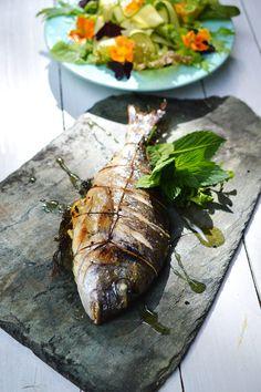 Pražma na grilu | Grilled sea bream