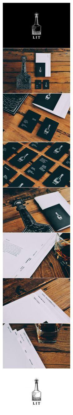 Plus 63 Design Co. Branding for Lit, a Japanese whisky bar in Manila