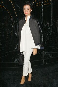 Super chic blogger Garance Dore.  Simplicity wins again.