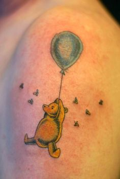 Friends Forever with Winnie the Pooh Tattoos