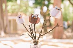 Owl birthday party - Ana turned 2!