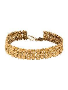 Carrera y Carrera Diamond Flower Collar Necklace