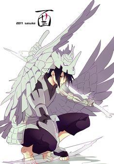 Interesting version of sasuke