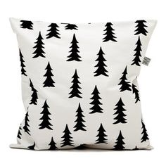 Love this pillow against a bright-colored chair.