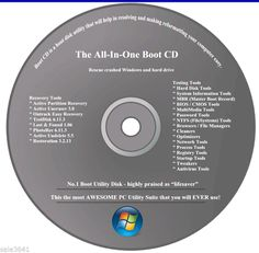 Acer  HP & Dell Computers Repair/Recovery Disc for Window 7 Vista  XP