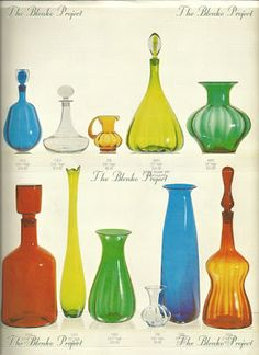 The Blenko Project is dedicated to recording the past, analyzing the present and being an advocate for the growth and preservation of BLENKO GLASS. Blenko Glass, Super Cute Puppies, Rainbow Glass, Antique Glassware, Amber Glass, Glass Collection, Table Lamps, Vintage Advertisements, West Virginia