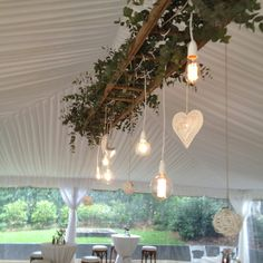 Wedding marquee light