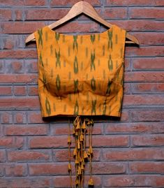 Cotton Saree Blouse Designs, Fancy Blouse Designs, Bridal Blouse Designs, Blouse Patterns, Designer Blouses Online, Blouse Designs Catalogue, Stylish Blouse Design, Boat Neck, Mustard