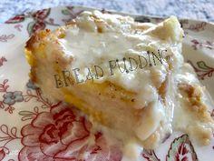 Estelle's: BREAD PUDDING AT IT'S FINEST Easy Desserts, Delicious Desserts, Dessert Recipes, Breakfast Recipes, Creme Brulee, Dessert Bread, Southern Recipes, Custard, Mousse