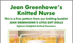 Jean Greenhowe, Knitting Patterns, Crochet Patterns, Little Gifts, Booklet, Free Pattern, Knit Crochet, Dolls, Baby Dolls