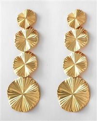 These radiant sunburst earrings add a touch of class to make your favorite outfit shine. Pair it with a flowy dress to give your outfit that extra wow factor. $14.99