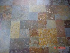 Piedra pizarra oxidada etrusca