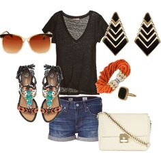 Fun summer outfit :)